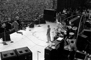 The Who at JFK Stadium in Philadelphia in 1982