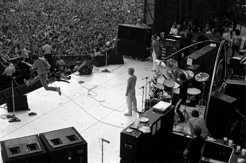 The Who at JFK Stadium in Philadelphia in 1982