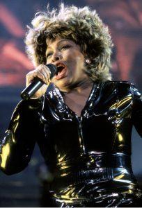 Tina Turner performing in Philadelphia