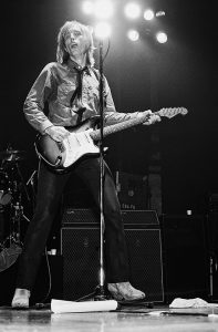 Tom Petty performing with the Heartbreakers at the Tower Theater in Philadelphia