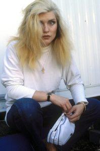 Debbie Harry of Blondie in a portrait taken August 1982 in Philadelphia, PA