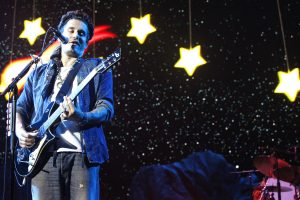 John Mayer performing in Camden, New Jersey in August 2013