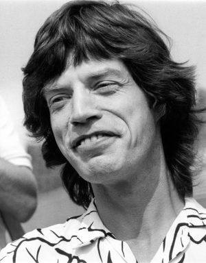 Mick Jagger photographed in August 1981 in Philadelphia.