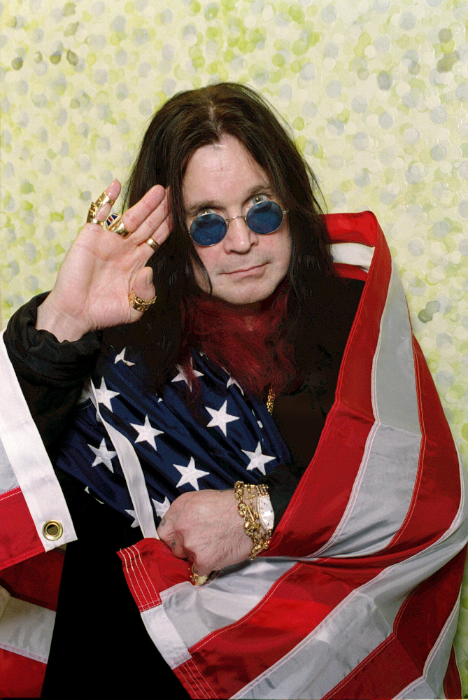 Ozzy Osbourne during his Merry Mayhem Tour