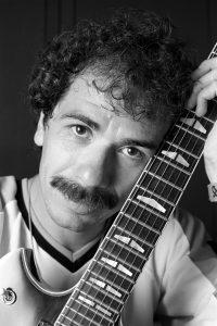 Carlos Santana portrait in Philadelphia, PA