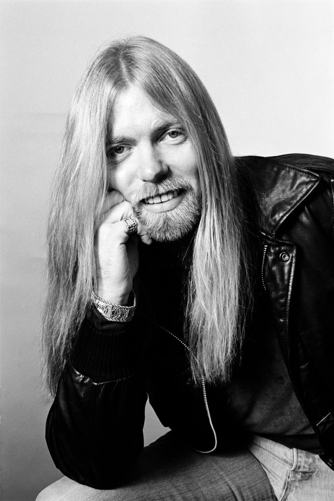 Gregg Allman in Philadelphia, PA. December, 1981