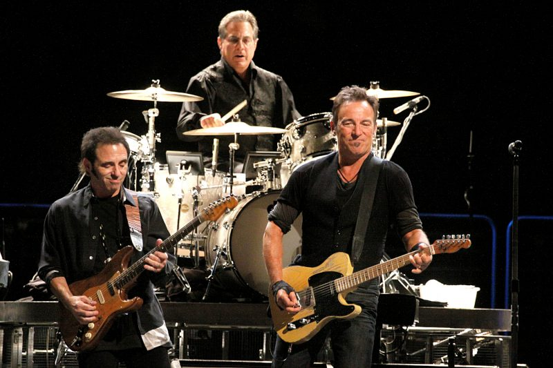 Bruce Springsteen performing at the Spectrum in Philadelphia, Pa. on October 14, 2009