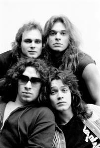 Van Halen in Philadelphia in 1977