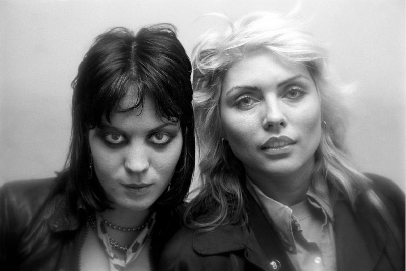Joan Jett and Debbie Harry