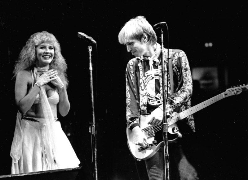 Tom Petty and Stevie Nicks