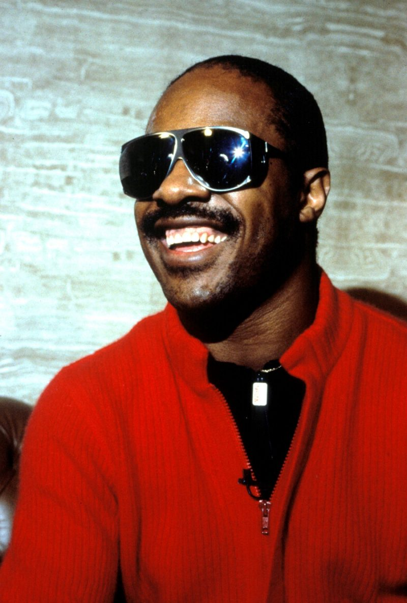 Stevie Wonder photograph