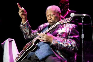 B.B. King performing in Atlantic City New Jersey