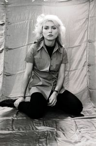 Debbie Harry of Blondie during promotion for Parallel Lines