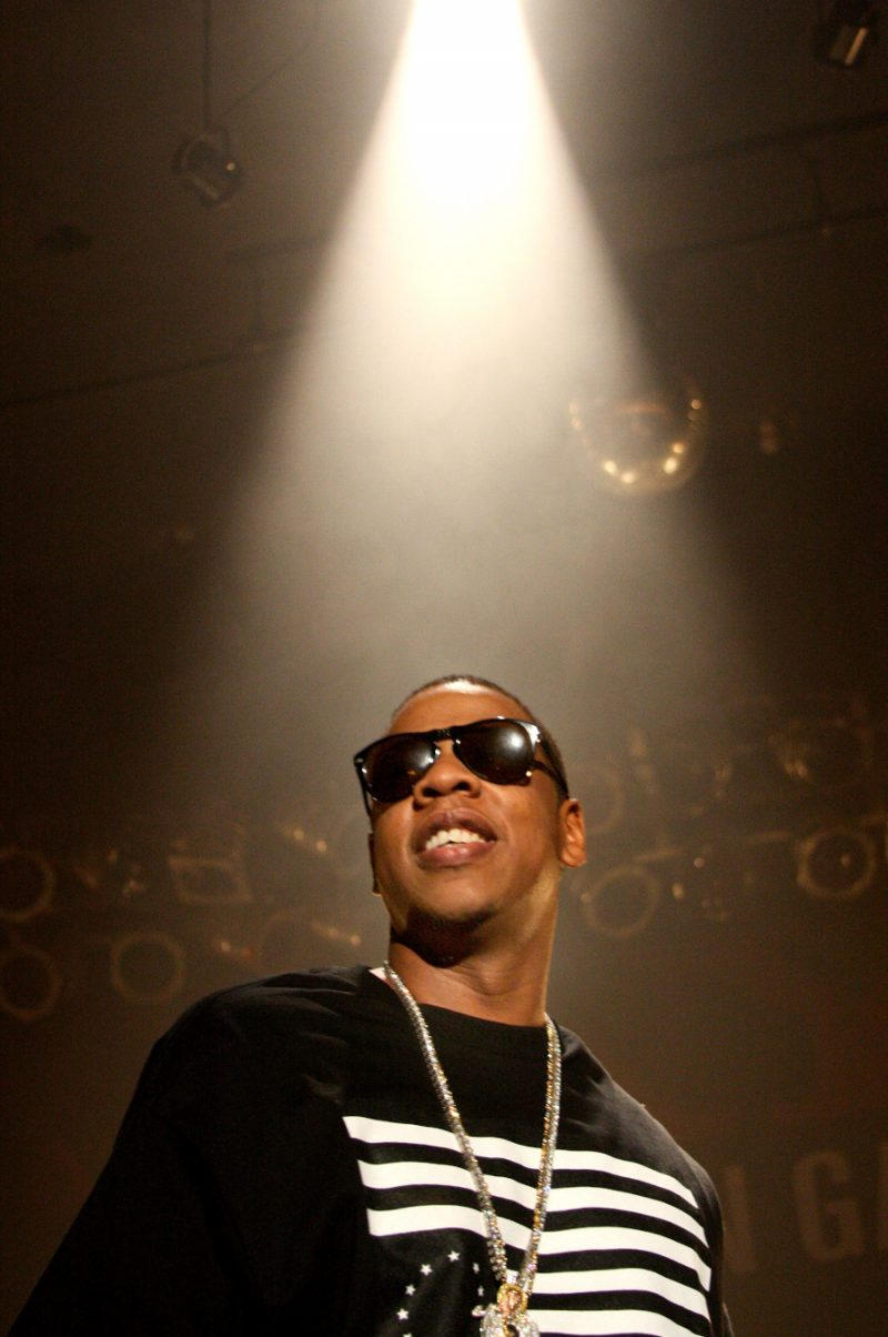 Jay-Z performing in Philadelphia, Pa. in November 2007