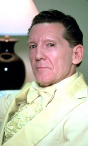 Portrait of Jerry Lee Lewis photographed in the 1970s