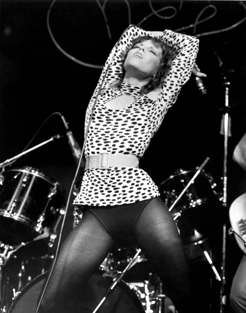 Pat Benatar performing in Philadelphia