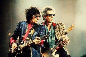 Ron Wood and Keith Richards of the Rolling Stones in Philadelphia