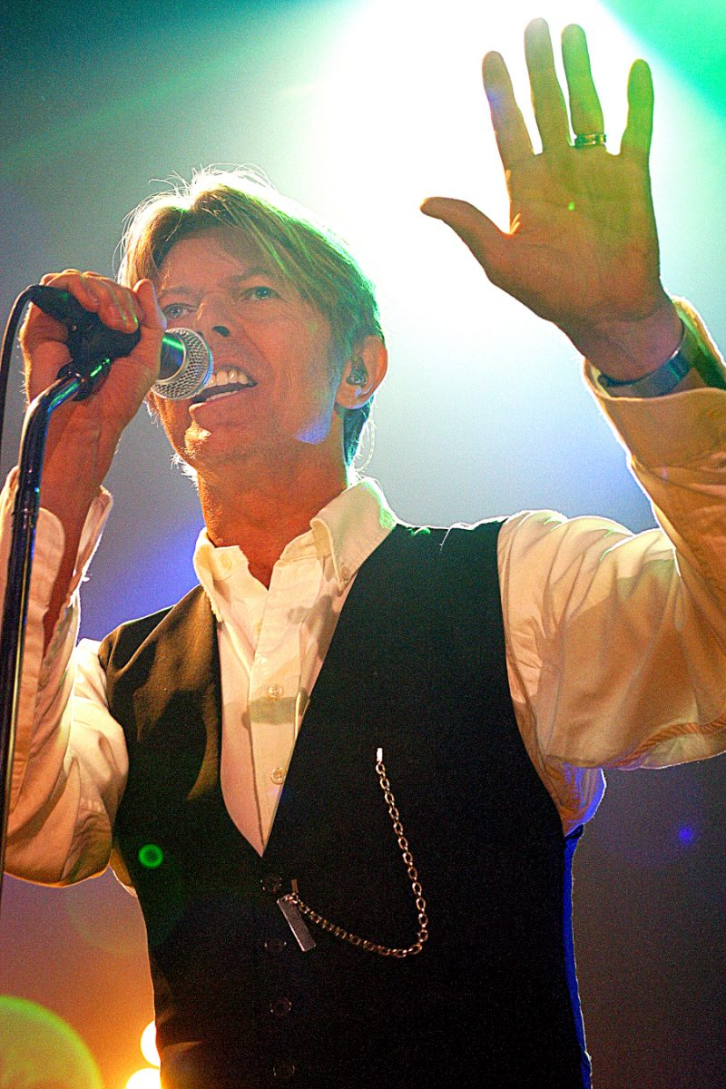 David Bowie at the Tower Theater