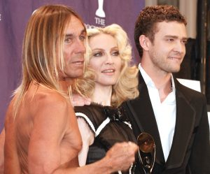 Madonna at the Hall of FAme