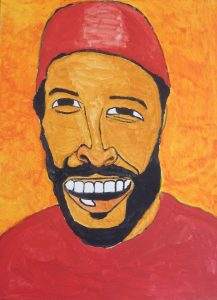 Marvin Gaye Painting