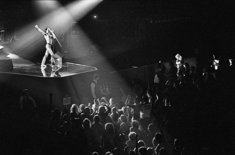 Freddie Mercury and Queen in Philadelphia